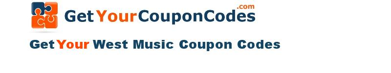 West Music coupon codes online